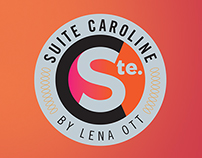 Suite Caroline Salon Logo Development