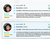 Redesign The Freelancer Profiles List