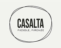 Olio Casalta - brand and bottle label