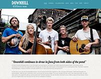 Website for Downhill Bluegrass Band