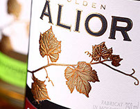 "Wine label design ""ALIOR""/Дизайн винной этикетки ALIOR"