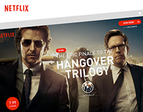 Re-design Netflix website