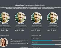 BizPlex - One Page Template Design