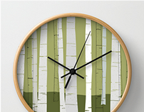 Quiet Birches | Product Line