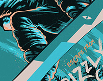 Grizzly Gulch | Snowboard Poster