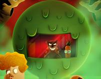 Evil Teddy & Nerd Carrot