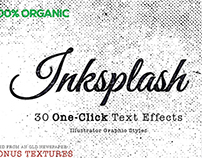 Inksplash - Illustrator One-Click Text Effects