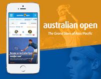 AUS Open 2015 Redesign
