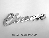 Chrome Logo AE Template