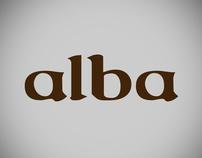 Alba [packaging&logo]