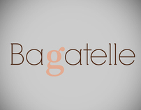 Bagatelle [packaging&logo]