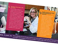 Benefits of A Women's College Brochure