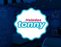 STAND HELADOS TONNY