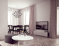 Flat in Warsaw, Poland