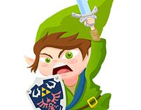 Link Running fanart