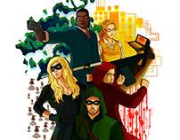 Arrow Poster (Season 2) Poster