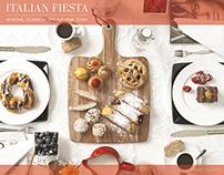 Italian Fiesta Cookbook