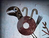 Metal Baby Bird Animatlon
