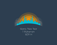 Islamic New Year Illustration