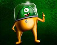 Ilustração - Personagem ET