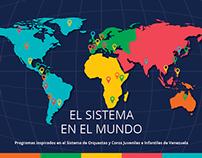 El Sistema en el mundo - Brochure