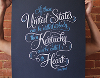 Kentucky for Kentucky Jesse stuart Prints