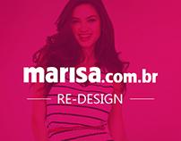 Re-Design - MARISA.com.br
