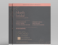 Blush Bridal Fashion Show Brand Identity & Promotional
