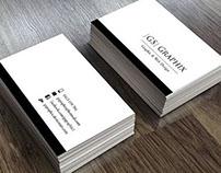 GS Graphix Business card