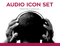 Audio Icon Set | Graphic Illustration