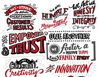 Czarnowski Core Values Mural (OC HQ)