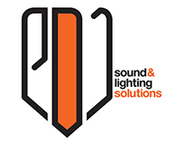 e-DJ / Logo Design / Sound & Lighting Solutions.