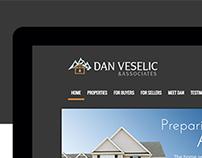 Dan Veselic - Real Estate Website Redesign