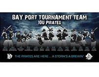 Bay Port Tournament Team Banner
