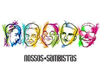 NOSSOS SAMBISTAS | mugs
