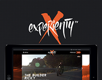 Experienty TV website
