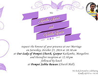 Wedding Card & Save the Date Designs