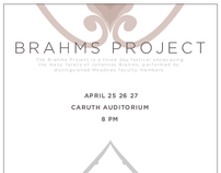 Brahms Project: Poster & Program