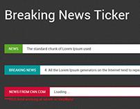 BreakingNews Jquery Plugin