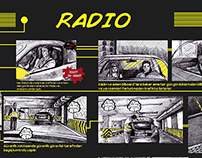 Commercial Radio Storyboard