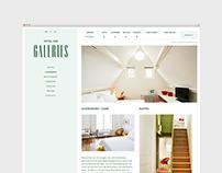 Hotel Des Galeries - Webdesign