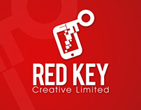 Red Key Creative Ltd. Logo Design