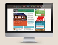 CityCompass - Web Design