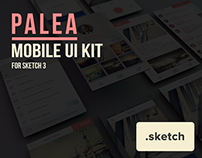 Palea Mobile UI Kit for Sketch