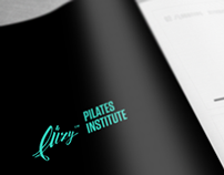 FUZY™ PILATES INSTITUTE LOGO STUDIES (2014)
