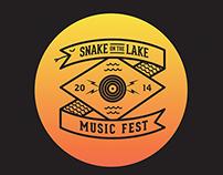 Snake on the Lake Gig Poster