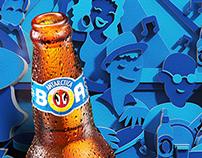 Antartica Beer Poster