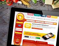 Yemek Sepeti Concept Redesign