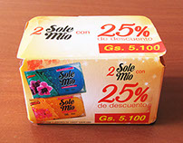 Promotional packaging Sole Mio soaps