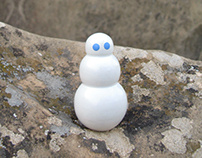 Igloo snowman